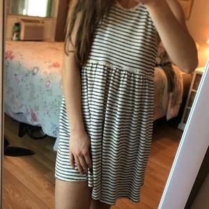 altar'd state striped babydoll dress